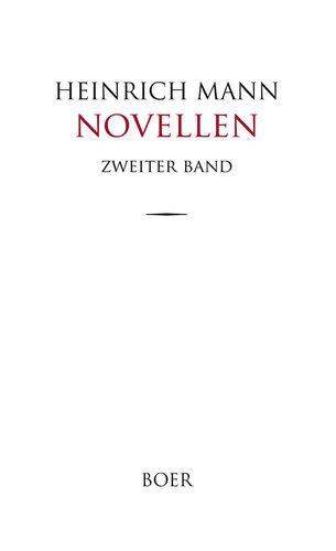 Novellen Band 2