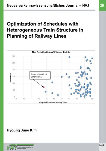 Optimization of Schedules with  Heterogeneous Train Structure in Plan-ning  of Railway Lines