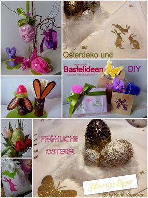 Osterdeko und Bastelideen DIY