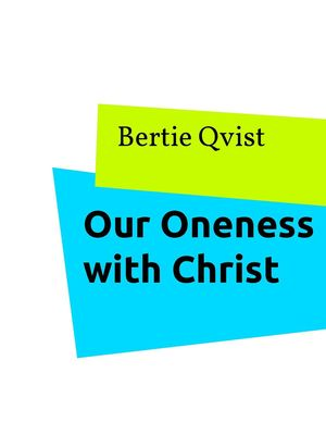 Our Oneness with Christ