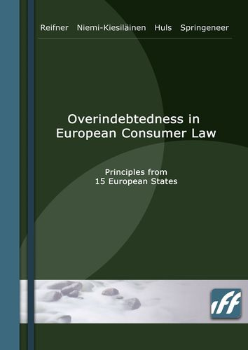 Overindebtedness in European Consumer Law