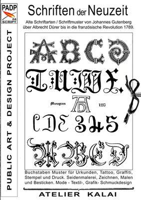 PADP-Script 004: Schriften der Neuzeit