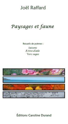 Paysages et faune