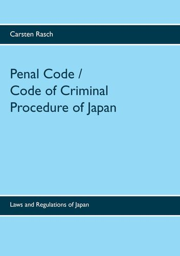 Penal Code / Code of Criminal Procedure of Japan