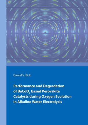 Performance and Degradation of BaCoO3 based Perovskite Catalysts during Oxygen Evolution in Alkaline Water Electrolysis