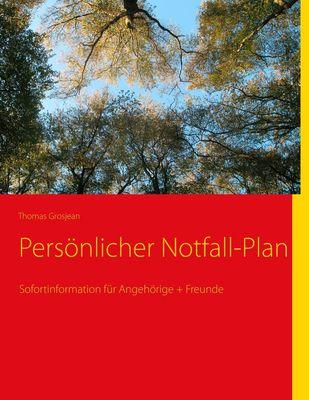 Persönlicher Notfall-Plan