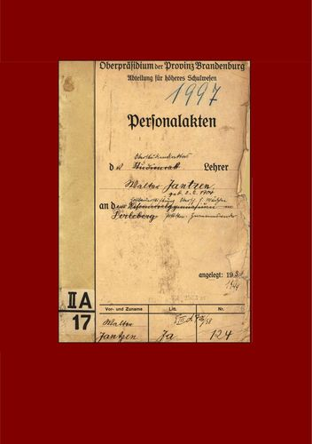 Personalakte 1928-1944