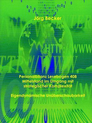 Personalbilanz Lesebogen 408 Mittelstand im Umgang mit strategischer Komplexität