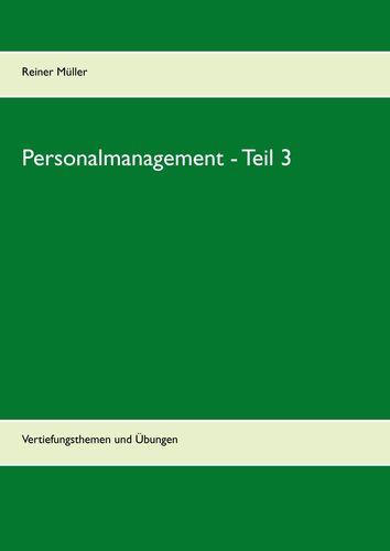 Personalmanagement - Teil 3