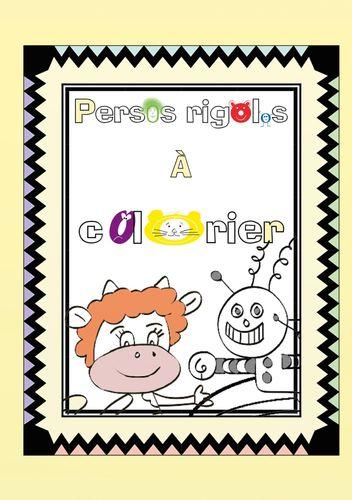 Persos rigolos à colorier