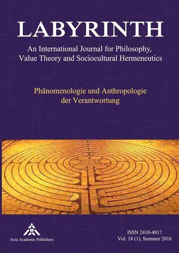 Phänomenologie und Anthropologie der Verantwortung