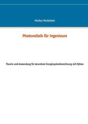 Photovoltaik für Ingenieure