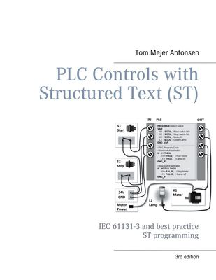 PLC Controls with Structured Text (ST), V3 Monochrome