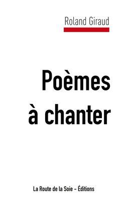 Poèmes à chanter