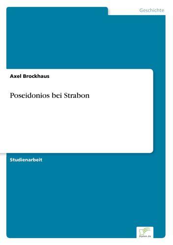 Poseidonios bei Strabon