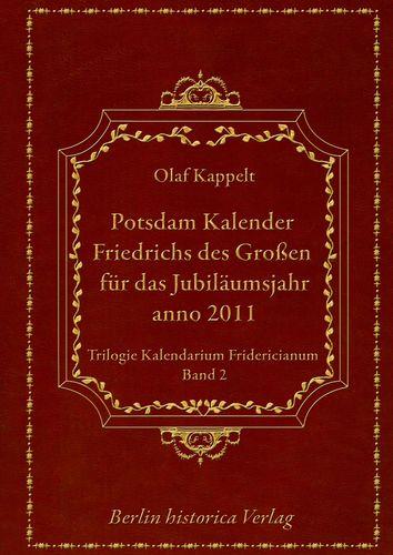 Potsdam Kalender Friedrichs des Großen