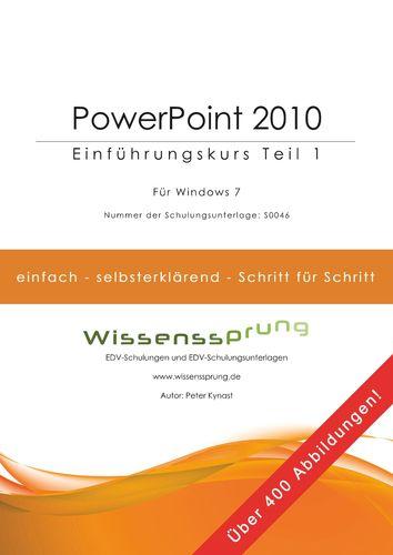 PowerPoint 2010 - Einführungskurs Teil 1