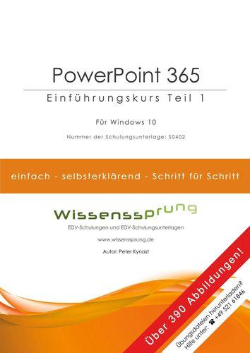 PowerPoint 365 - Einführungskurs Teil 1