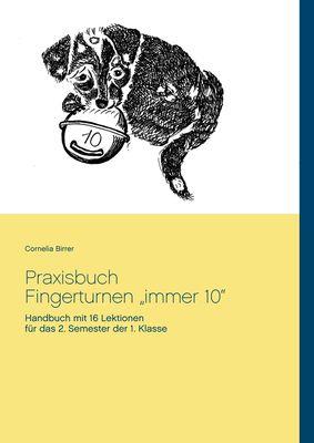 """Praxisbuch Fingerturnen  """"immer 10"""""""