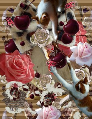 Pretty Poetress Notebook: Powdered My Nose and Had Some Cherries