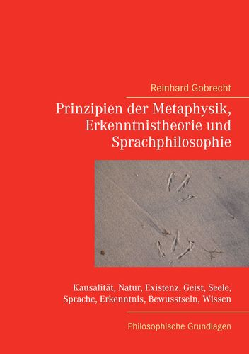 Prinzipien der Metaphysik, Erkenntnistheorie und Sprachphilosophie