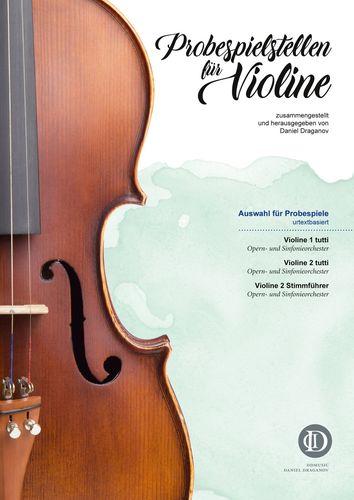 Probespielstellen für Violine