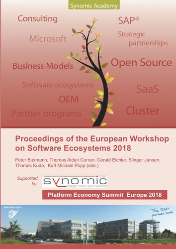 Proceedings of the European Workshop on Software Ecosystems 2018