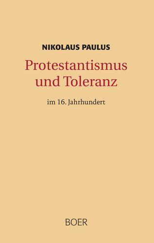 Protestantismus und Toleranz