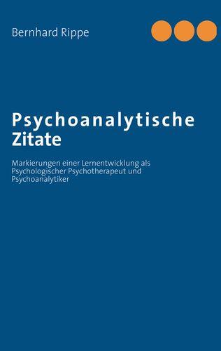 Psychoanalytische Zitate