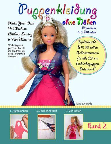 Puppenkleidung ohne Nähen