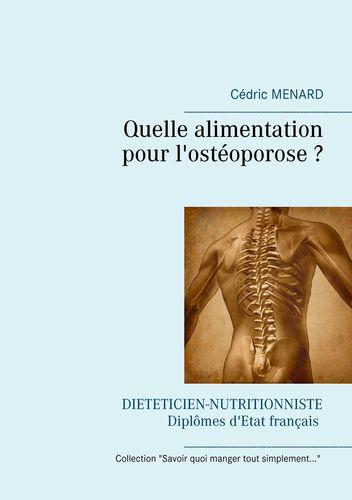 Quelle alimentation pour l'ostéoporose ?