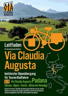 """Radroute Via Claudia Augusta 2/2 """"Padana"""""""
