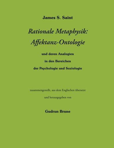 Rationale Metaphysik: Affektanz -Ontologie