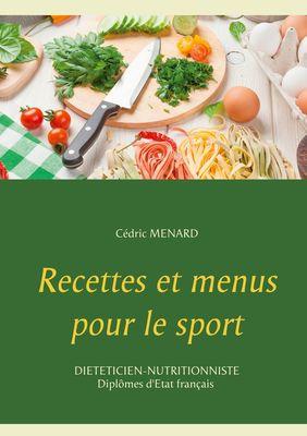 Recettes et menus pour le sport