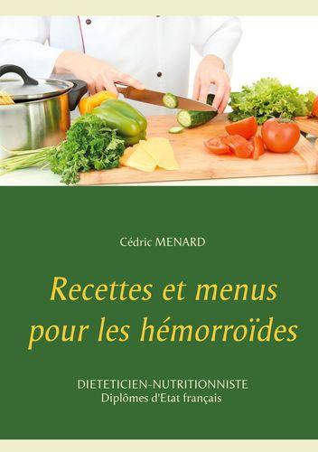 Recettes et menus pour les hémorroïdes