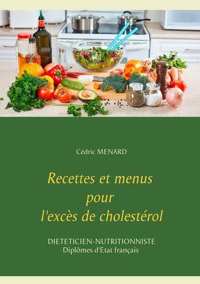 Recettes et menus pour l'excès de cholestérol