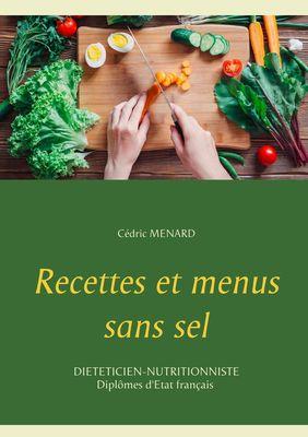 Recettes et menus sans sel