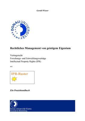 Rechtliches Management von geistigem Eigentum
