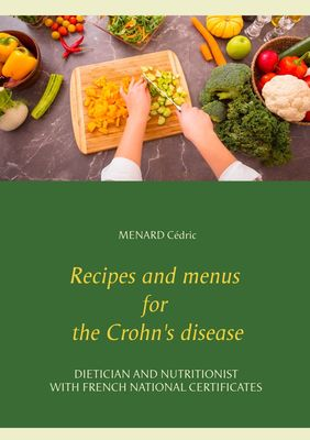 Recipes and menus for the Crohn's disease