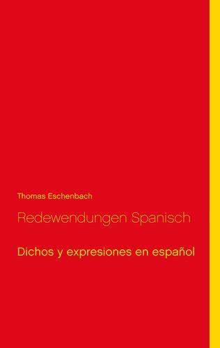 Redewendungen Spanisch