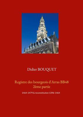 Registre des bourgeois d'Arras BB48 2ème partie