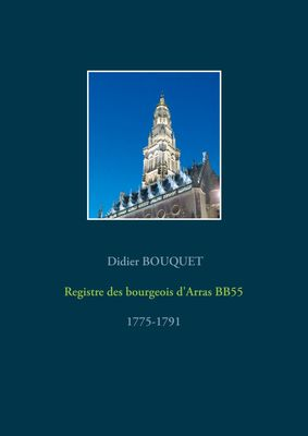 Registre des bourgeois d'Arras BB55 - 1775-1791