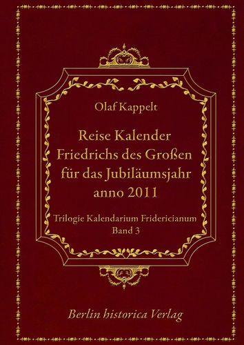 Reise Kalender Friedrichs des Großen