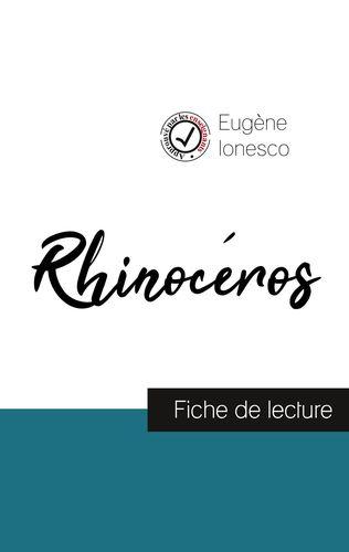 Rhinocéros de Ionesco (fiche de lecture et analyse complète de l'œuvre)