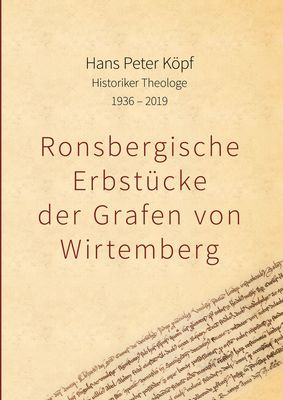 Ronsbergische Erbstücke der Grafen von Wirtemberg