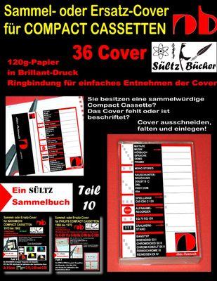 Sammel- oder Ersatz-Cover für Compact Cassetten