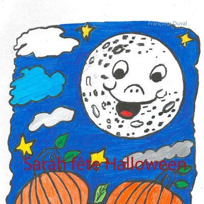 Sarah fête Halloween