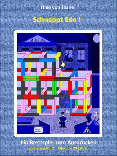 Schnappt Ede !  - 2 Spieler Probeversion - Kreativ & Spaß: Ein spannendes Brettspiel im 3D Design
