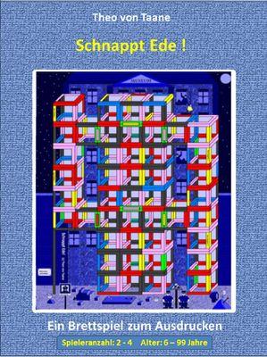 Schnappt Ede !  - 4 Spieler Vollversion - Kreativ & Spaß: Ein spannendes Brettspiel im 3D Design