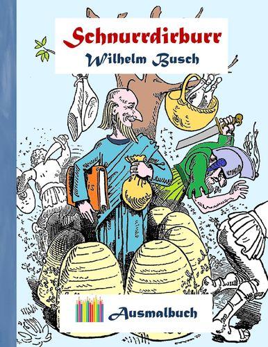 Schnurrdirburr (Ausmalbuch)
